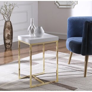 Heim End Table by Mercer41 2019 Sale
