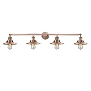 Innovations Lighting Railroad 4-Light Vanity Light