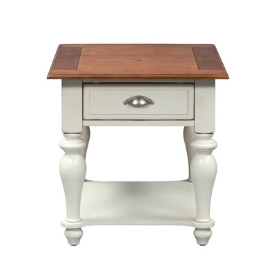 Balhi End Table with Storage by Alcott Hill