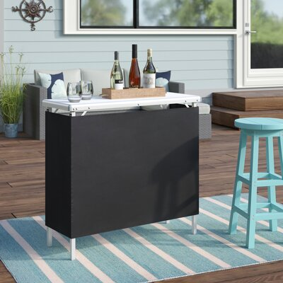 Adrien High Top Bar by Beachcrest Home Today Sale Only