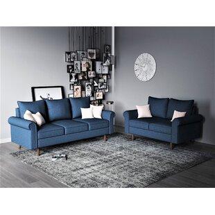 Ruthann 2 Piece Living Room Set by Gracie Oaks