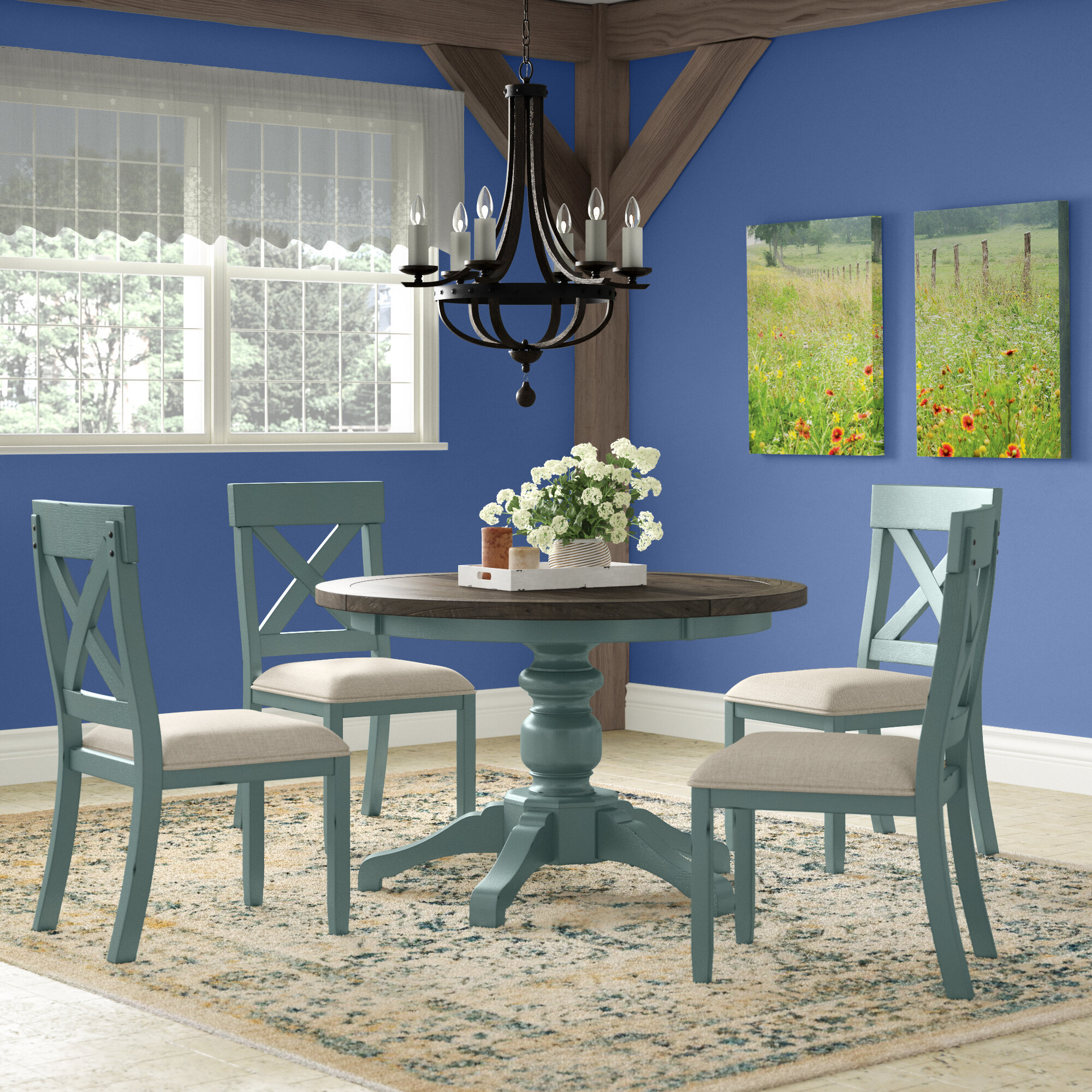 Distressed Finish Kitchen Dining Room Sets You Ll Love In 2021 Wayfair