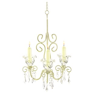 Compare Barr Iron & Acrylic 3-Light Candle Style Chandelier By Harriet Bee