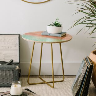 Viviana Gonzalez Calm Sunset End Table by East Urban Home