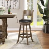Levitt Swivel Bar & Counter Stool by Alcott Hill®