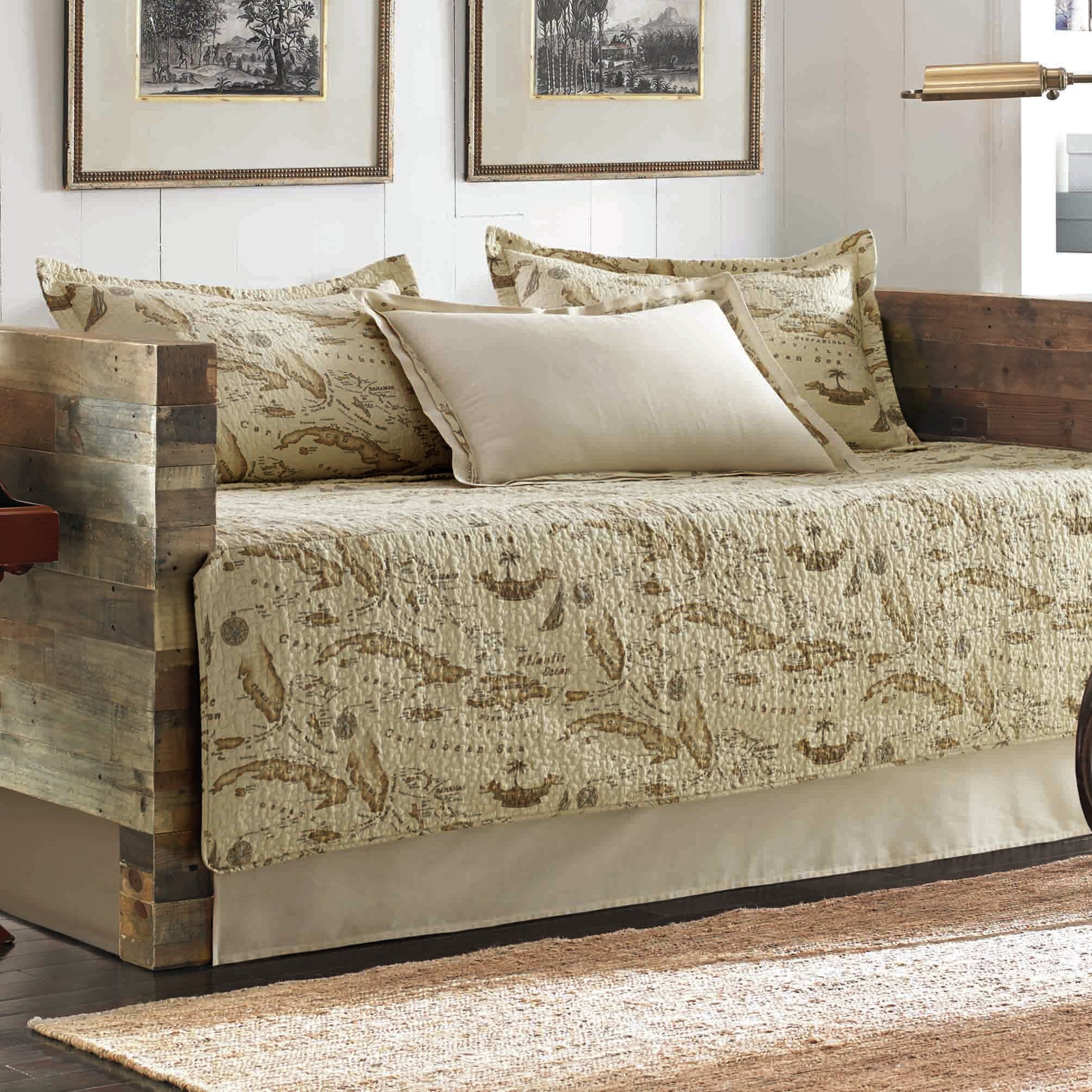 Tommy bahama home map 5 piece daybed cover set by tommy bahama tommy bahama home map 5 piece daybed cover set by tommy bahama bedding reviews wayfair gumiabroncs Gallery