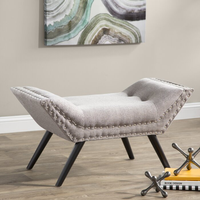 Enjoyable Coggin Tufted Ottoman Theyellowbook Wood Chair Design Ideas Theyellowbookinfo