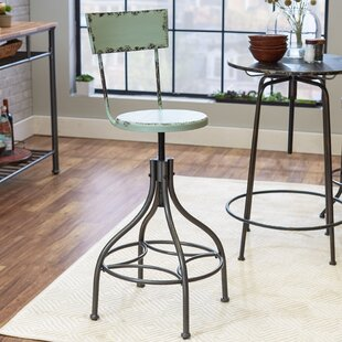 Leadville Adjustable Height Swivel Bar Stool Trent Austin Design