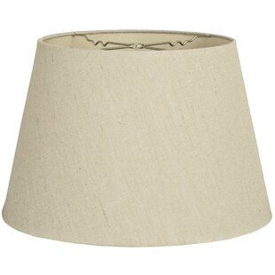Best Price Tapered 14 Linen Empire Lamp Shade By Alcott Hill