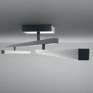 Carmen 1-Light LED Semi Flush Mount by ZANEEN design