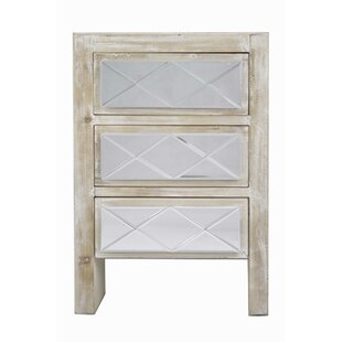 Buy luxury Laraine 3 Drawer Accent Chest By House of Hampton