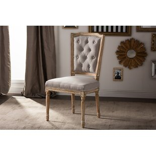 Great Price Tyra French Upholstered Dining Chair by Ophelia & Co. Reviews (2019) & Buyer's Guide