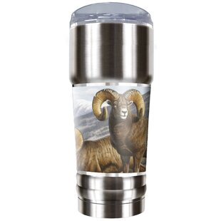 Big Horn Sheep Traditions 32 oz. Stainless Steel Travel Tumbler