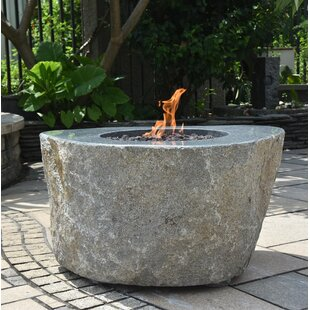 Rogelio Concrete Propane Fire Pit Table By Sol 72 Outdoor