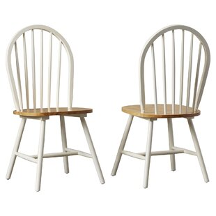 Look for Bella Solid Wood Dining Chair (Set of 2) by August Grove Reviews (2019) & Buyer's Guide
