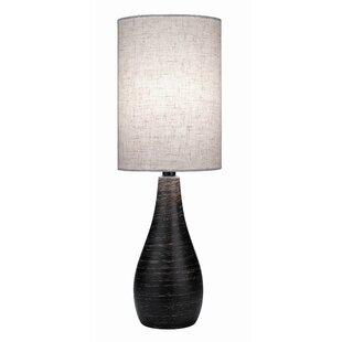 Reviews Alcinous Mini Tapered Table Lamp By Mercury Row