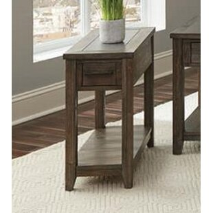 Salerno End Table by Gracie Oaks
