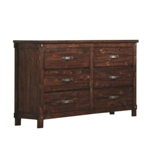 Loon Peak Angelynn 6 Drawer Double Dresser Image