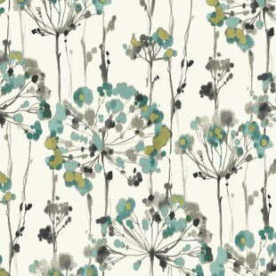 large print floral wallpaper wayfair