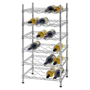 Bilski Wire 24 Bottle Floor Wine Rack by ..