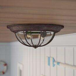 Ceiling lights pendant flush lighting wayfair porch lights mozeypictures Gallery