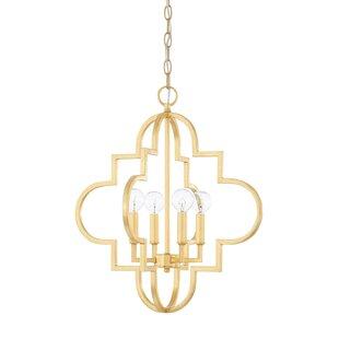 Shop For Reidar 4-Light Chandelier By Willa Arlo Interiors