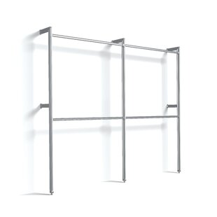 Relax 233cm Wide Clothes Storage System  sc 1 st  Wayfair & Clothes Rails u0026 Wardrobe Systems | Wayfair.co.uk