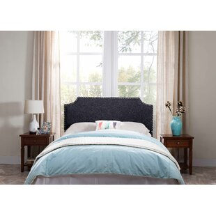 Frates Upholstered Panel Headboard by Charlton Home