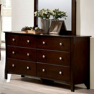 Akash 6 Drawer Double Dresser