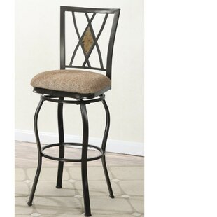 Crothersville 24 Swivel Bar Stool (Set of 2) by Fleur De Lis Living