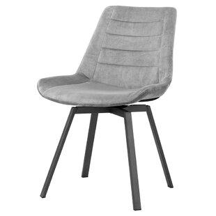 Antonioni Upholstered Metal Parsons Chair Set of 2