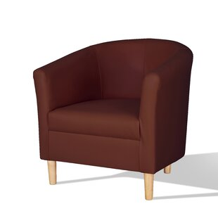 Kenzie Faux Leather Tub Chair By Zipcode Design