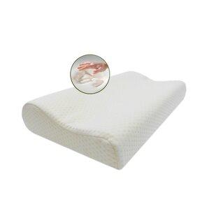 White Neck Memory Foam Pillow by Alwyn Home