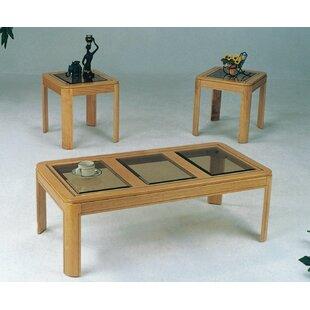 Winston Porter Egan 3 Piece Coffee Table Set