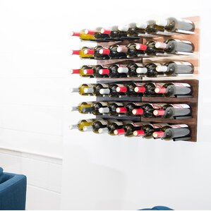 36 Bottle Traditional Wall Mounted Wine Rack by VintageView