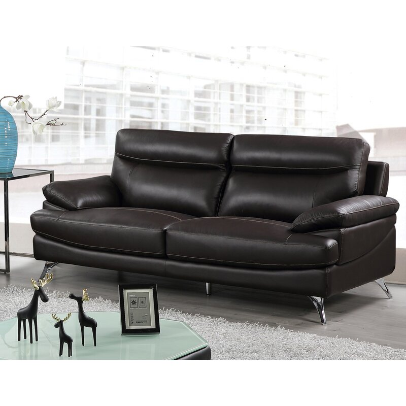 Best Quality Furniture Leather Sofa | Wayfair