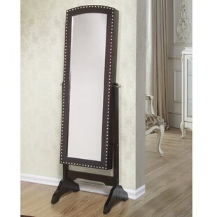 Check Prices Abby Jewelry Armoire with Mirror ByBest Desu, Inc.