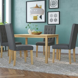 Dining Table With 4 Chairs By Brambly Cottage