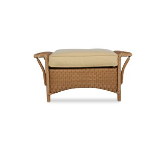 Lloyd Flanders Nantucket Ottoman with Cus..
