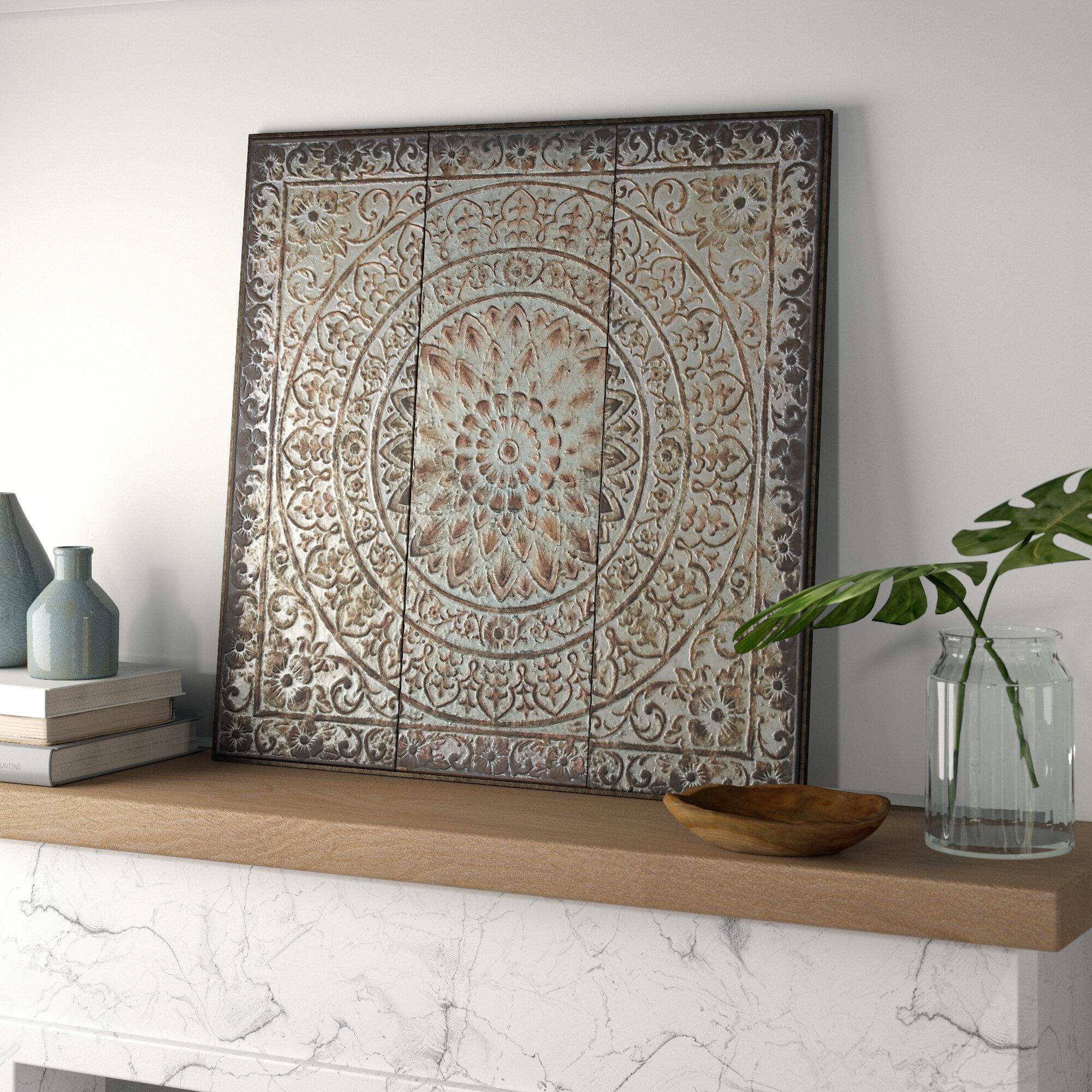 Traditional Artistic Metal Wall Panel