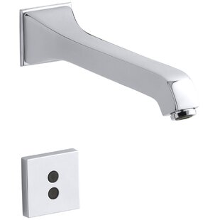 Kohler Memoirs Wall-Mount Commercial Bathroom Sink Faucet with 8-3/16