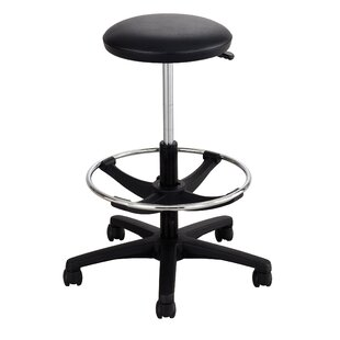 Safco Diesel Series Industrial Stool w/Back, High Base