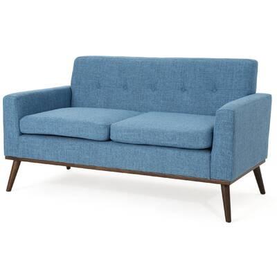 Enjoyable Wrought Studio Wargo Mid Century Modern Loveseat Reviews Lamtechconsult Wood Chair Design Ideas Lamtechconsultcom