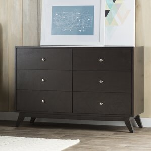 Astra 6 Drawer Dresser by Mercury Row