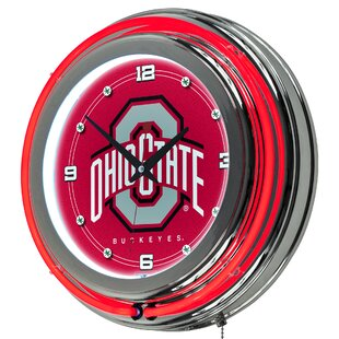 NCAA Team 14.5 Wall Clock by Trademark Global