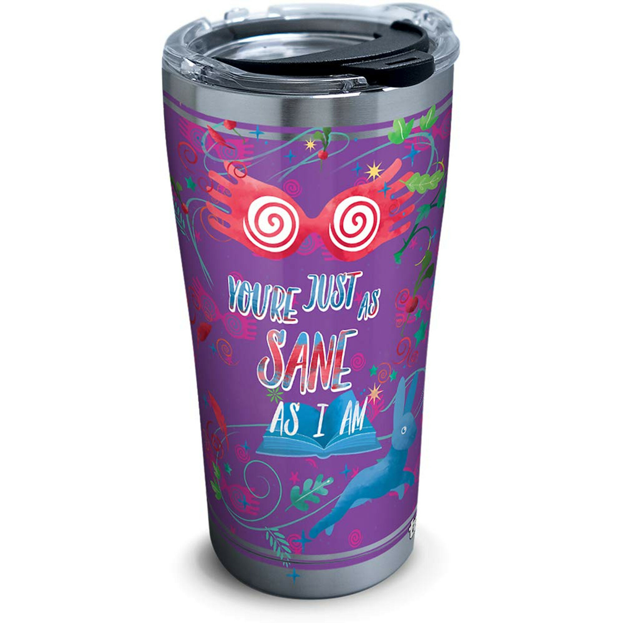 Black Slant Collections 20oz Stainless Steel Travel tumbler