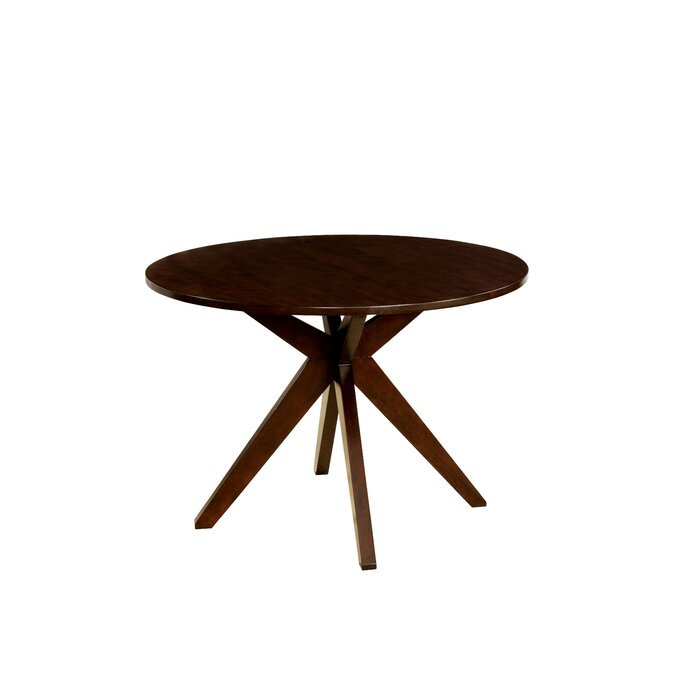 Exceptional Bathurst Mid Century Modern Round Dining Table
