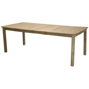 Review Baek Teak Dining Table