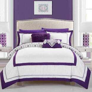 Angora 7 Piece Twin Reversible Comforter Set
