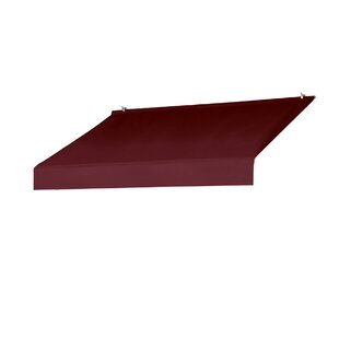 Awnings in a Box Designer 6 ft. W x 2 ft. D Awning Cover by IDM Worldwide